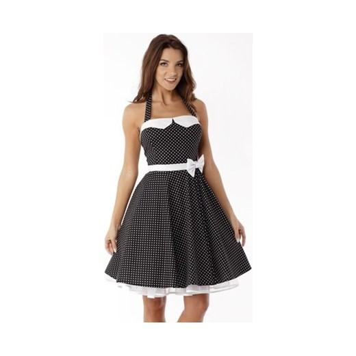 ee7eab6185 Sukienka Ella Dora rozkloszowana midi w stylu vintage w Domodi