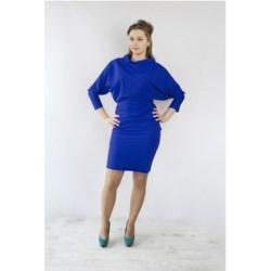 2026945f68 Meleksima sukienka elegancka dla puszystych bez wzorów