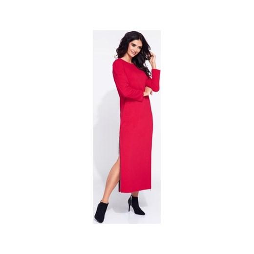 72f9ca7f40 Sukienka Bien Fashion maxi dresowa w Domodi