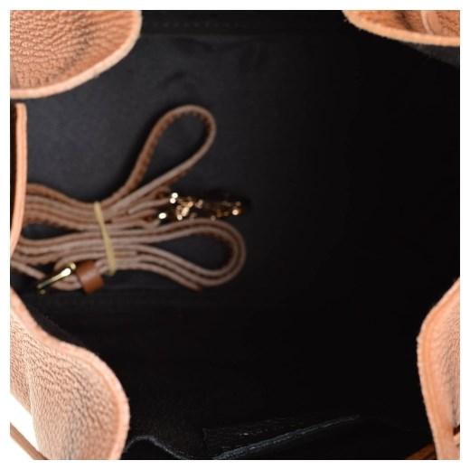 48a2e50e1d6e7 ... Real Leather torebka szara na ramię ze skóry elegancka ...