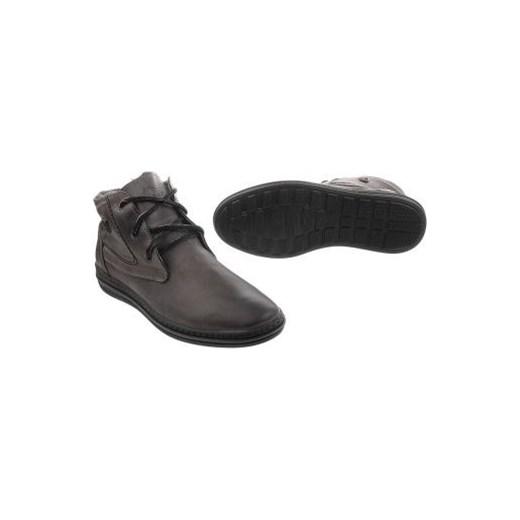 9a1b653f Zimowe buty męskie 039 szare butyolivier w Domodi
