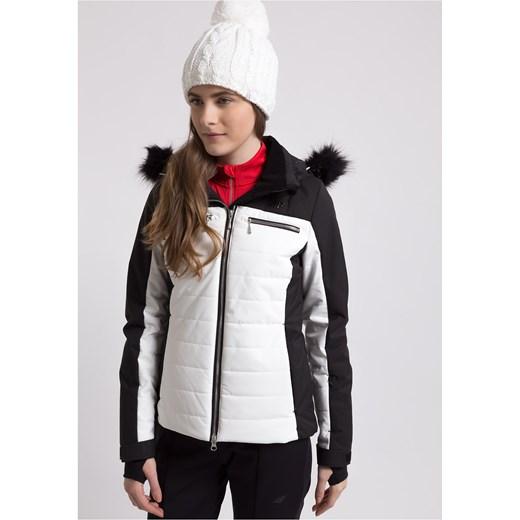 Kurtka narciarska damska KUDN151 biały 4F