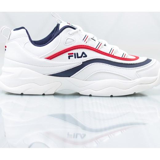 d043fc94 Buty sportowe męskie Fila białe sznurowane w Domodi