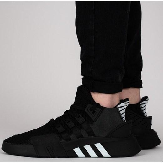 najnowsza kolekcja nowy autentyczny świeże style wielki Czarne Buty, Adidas EQT Bask ADV Męskie oraz sprzedaż
