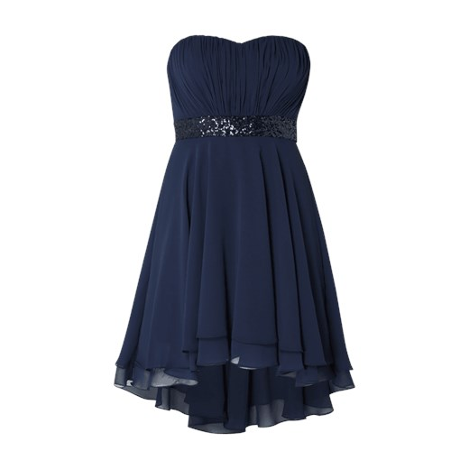 08fc1031ac Sukienka Paradi z szyfonu gorsetowa elegancka na sylwestra w Domodi