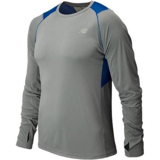 e7e5b08f8 Męska koszulka do biegania NB MRT5117OTB New Balance niebieski Cenga ...