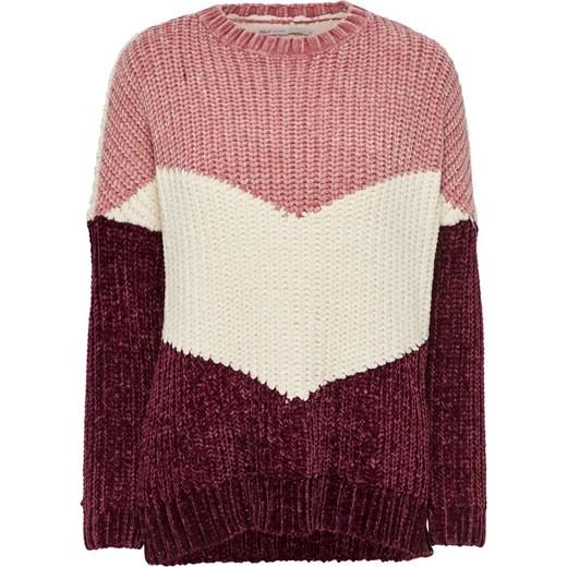 a9689ec437e67f Sweter damski różowy Only w Domodi