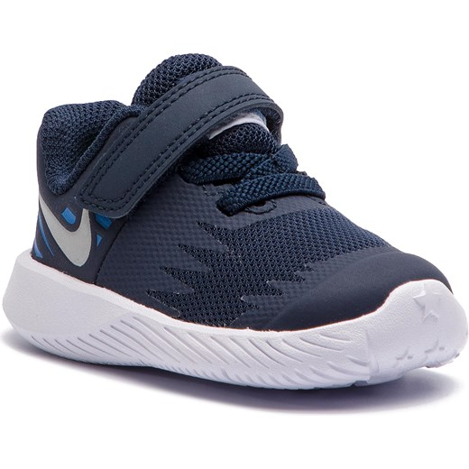 sports shoes 2d05b cd2a5 Buty sportowe dziecięce Nike na rzepy bez wzorów