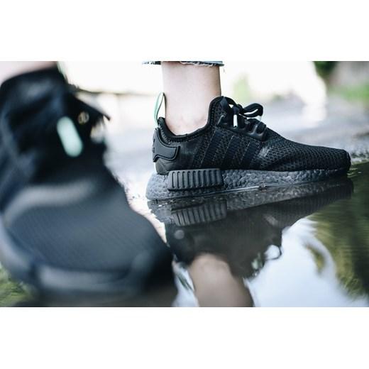 Adidas Originals buty sportowe męskie nmd czarne letnie z gumy