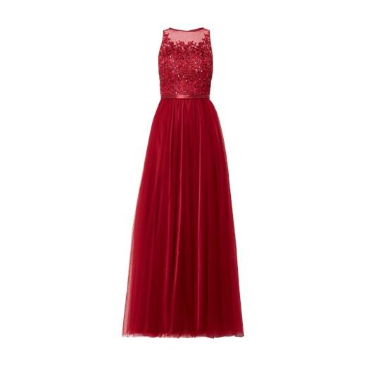 0877e6c604f0 Sukienka Laona z okrągłym dekoltem bez rękawów maxi na karnawał w Domodi