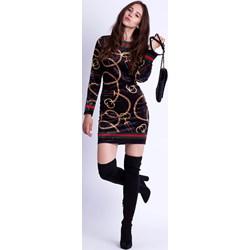 5cb50d2c51 Sukienka Selfieroom z długimi rękawami midi