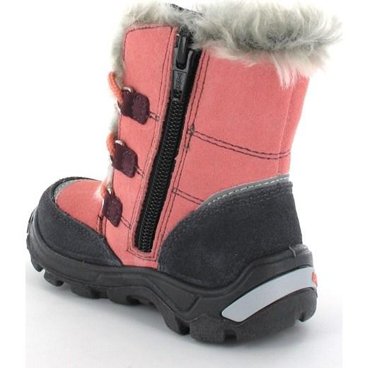 5d3c9317 ... Buty zimowe dziecięce Bartek bez wzorów sznurowane śniegowce ...
