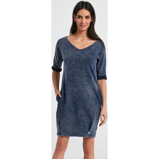 91b0cd706e Ennywear 250071 Sukienka sukienka - granatowy Ennywear 38 Avaro.pl ...