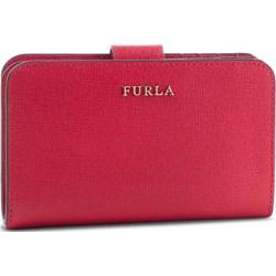 6a6444fd98b9d Czerwone portfele damskie włoskie portfele ze skóry