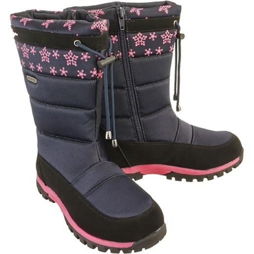 3abd9cff Wojtyłko buty zimowe dziecięce śniegowce z zamkiem w Domodi
