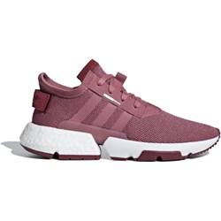 lowest price a9dd0 9955a Różowe buty sportowe damskie Adidas z zamszu wiosenne na koturnie  sznurowane gładkie