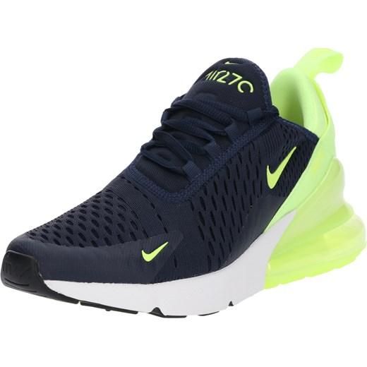 7230db3ece58a7 Buty sportowe damskie Nike Sportswear dla biegaczy młodzieżowe sznurowane  niebieskie na platformie ...