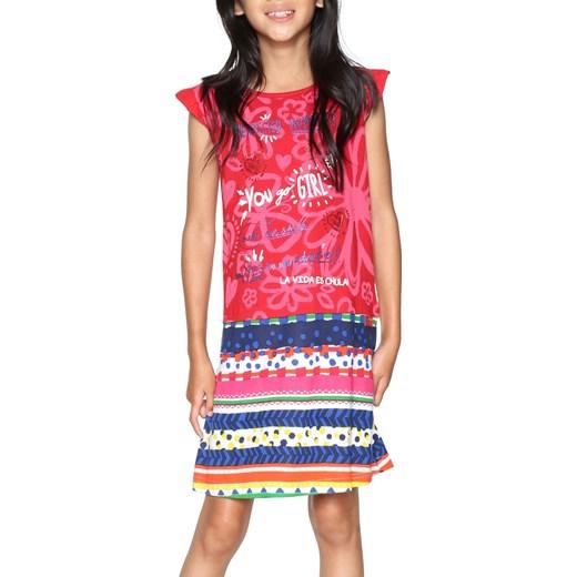 e6b803c331 Sukienka dziewczęca Desigual w paski w Domodi