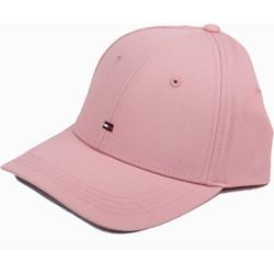 Różowe czapka z daszkiem damska Tommy Hilfiger 3a59e90b04
