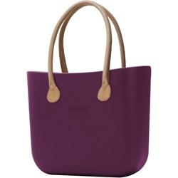7d7c1d42950b7 Shopper bag O Bag do ręki młodzieżowa mieszcząca a8 matowa bez dodatków