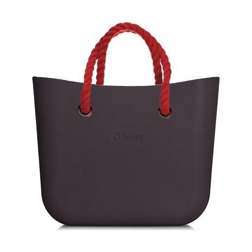 5a21601339669 Shopper bag O Bag matowa bez dodatków do ręki w Domodi