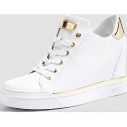 e036cd3c54c5a Sneakersy damskie Guess na wiosnę sznurowane