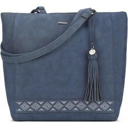 108482188f2c7 Granatowe torby shopper bag wittchen