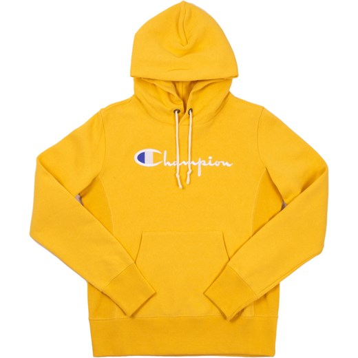 zaoszczędź do 80% moda designerska ogromny wybór Bluza sportowa Champion żółta bawełniana z napisem