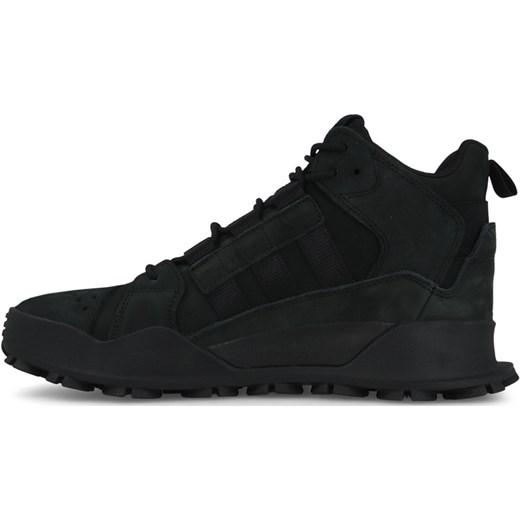 4e022341706ba ... Buty sportowe męskie czarne Adidas Originals sznurowane z nubuku ...