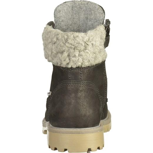 ca41199057 Buty zimowe dziecięce Richter kozaki wiązane skórzane w Domodi