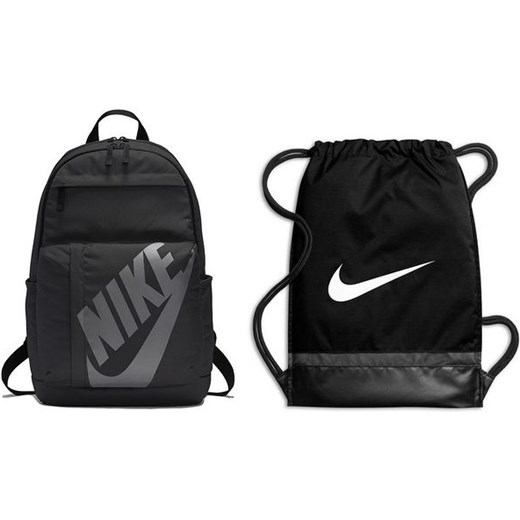 f8992ab4d Zestaw plecak Elemental + worek na buty Brasilia Training Nike (czarny)  Nike wyprzedaż SPORT