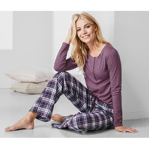 5801e5b4b3e5d Tchibo piżama w kratkę w Domodi