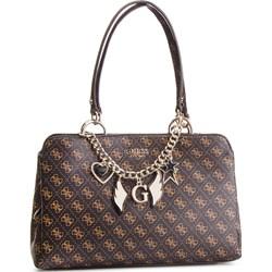 97ca28077e934 Shopper bag Guess na ramię z nadrukiem