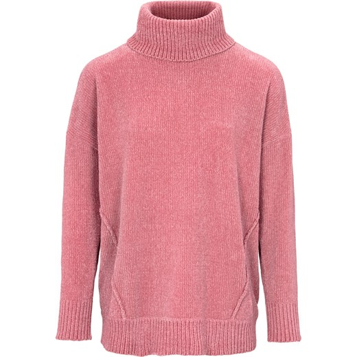 1e35e957b6b355 Sweter damski Heine różowy w Domodi