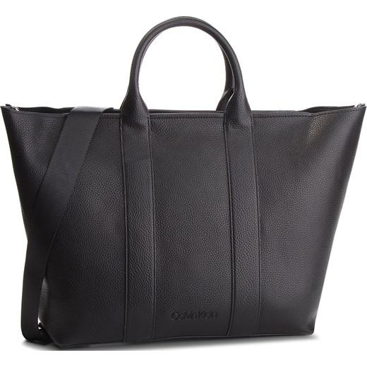 0cdf26ecf3546 Shopper bag Calvin Klein do ręki duża bez dodatków casualowa matowa ...