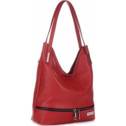11923185737e4 Shopper bag Vittoria Gotti skórzana