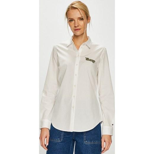 128251d8abe610 Tommy Hilfiger koszula damska z długimi rękawami z kołnierzykiem w ...