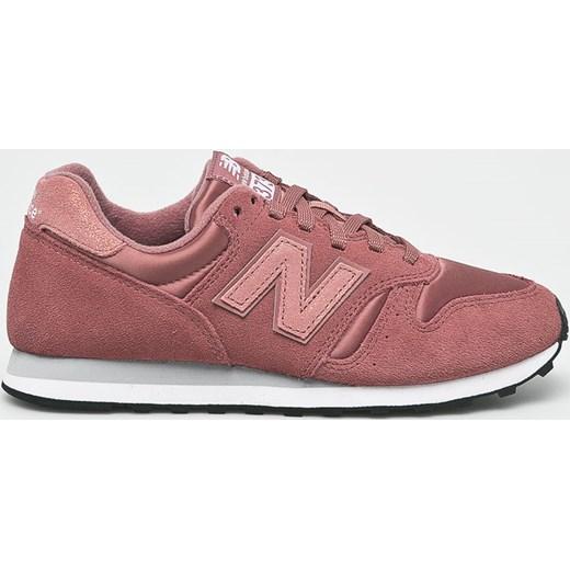 2db23bc4050459 Buty sportowe damskie New Balance do fitnessu bez wzorów różowe z ...