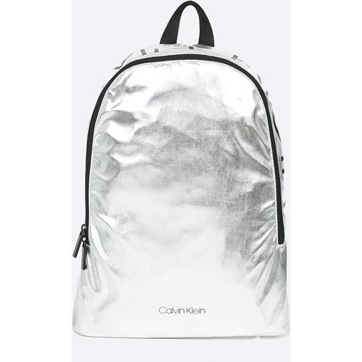 47105d4f7849b Plecak Calvin Klein; Plecak Calvin Klein; Plecak srebrny ...