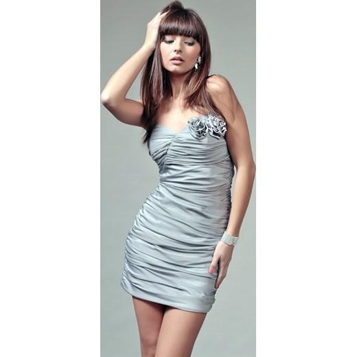 4baa3f23d7 Sukienka poliestrowa wiosenna na studniówkę w Domodi