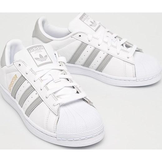 Trampki damskie Adidas Originals superstar sznurowane