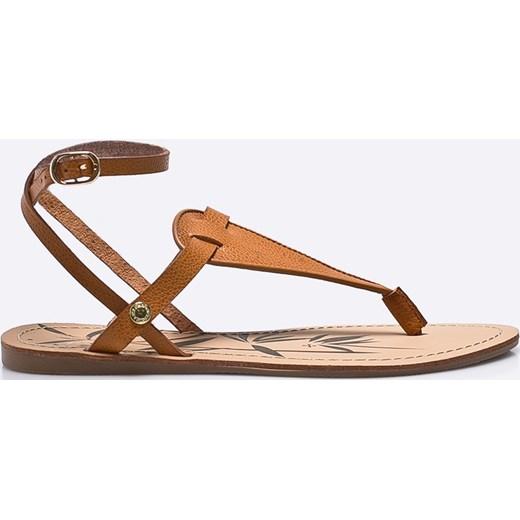 4735c20148c84 Sandały damskie Pepe Jeans na lato bez obcasa z klamrą casualowe w ...