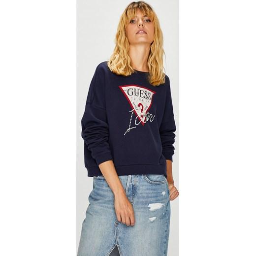 b78ddf4176dc9 Bluza damska Guess Jeans krótka w Domodi