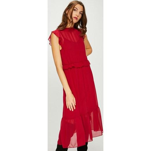 96afa7591 Sukienka Vero Moda z okrągłym dekoltem z krótkim rękawem biznesowa w ...