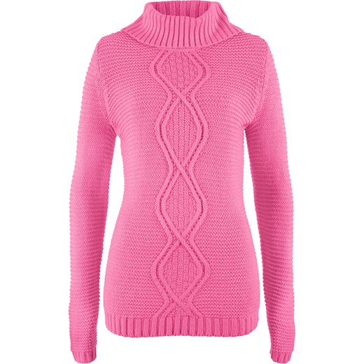 d7b8f9761a99f0 Sweter damski różowy BPC Collection w Domodi