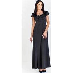 f16eb383dc Czarne sukienki wieczorowe okrągły
