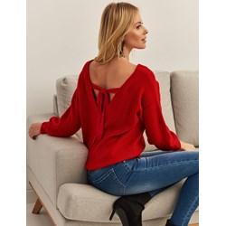 29f571ebb5a32b Sweter damski Top Secret czerwony