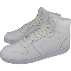 the latest 91308 c2cb9 Białe buty sportowe męskie Nike sznurowane ze skóry ekologicznej wiosenne