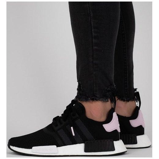 290087d3933324 Buty sportowe damskie Adidas Originals sneakersy w stylu młodzieżowym nmd  sznurowane na płaskiej podeszwie z gumy w Domodi