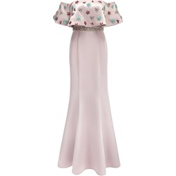 e1e113bb25 Sukienka La Poudre™ gorsetowa na sylwestra w kwiaty